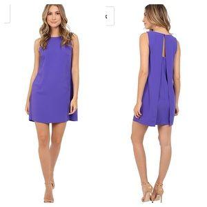 NWT Trina Turk Sol Carmel Crepe Sleeveless Dress